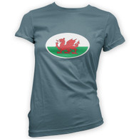 Welsh Flag Woman's T-Shirt
