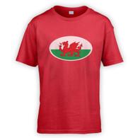 Welsh Flag Kids T-Shirt