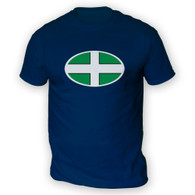 Devon Flag Mens T-Shirt