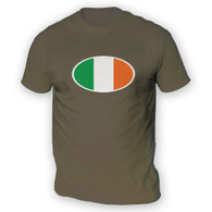 Irish Flag Mens T-Shirt