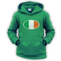 Irish Flag Kids Hoodie