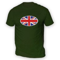 Union Jack Flag Mens T-Shirt