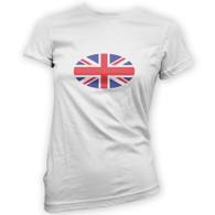 Union Jack Flag Woman's T-Shirt