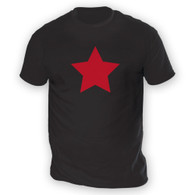 Red Star Mens T-Shirt