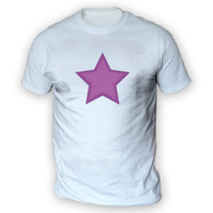 Purple Star Mens T-Shirt