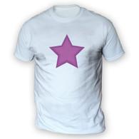 Purple Star Mens T-Shirt