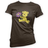 Cute Flower Bear Woman's T-Shirt