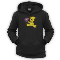 Cute Flower Bear Kids Hoodie