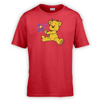Cute Flower Bear Kids T-Shirt