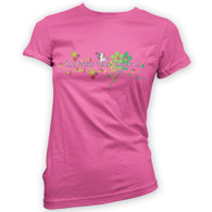 The Fairies Made Me Do It Woman's T-Shirt