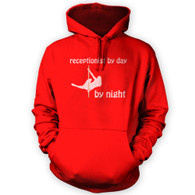 Receptionist by Day Pole Dancer by Night Hoodie