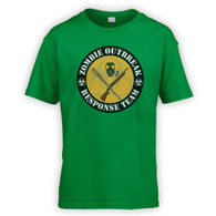 Zombie Outbreak Response Team Kids T-Shirt