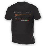 Zombie Slugger Mens T-Shirt