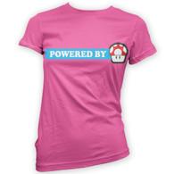 Powered By Mushroom Woman's T-Shirt