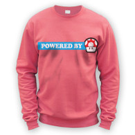 Powered By Mushroom Sweater
