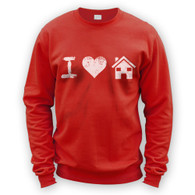 I Love House Music Sweater