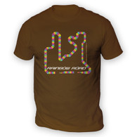 Rainbow Road Mens T-Shirt