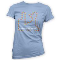 Rainbow Road Woman's T-Shirt