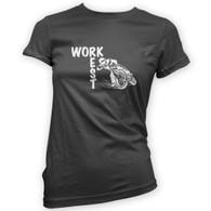 Work Rest MotoCross Woman's T-Shirt