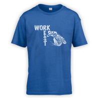 Work Rest MotoCross Kids T-Shirt