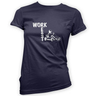 Work Rest Go Kart Woman's T-Shirt