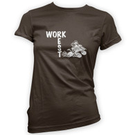 Work Rest Quad Bike Woman's T-Shirt