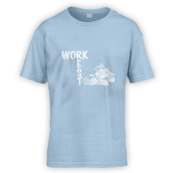 Work Rest Quad Bike Kids T-Shirt
