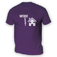 Work Rest House Music Mens T-Shirt