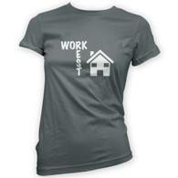 Work Rest House Music Woman's T-Shirt
