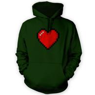 16 Bit Heart Hoodie