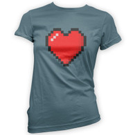 16 Bit Heart Woman's T-Shirt