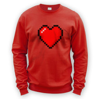 16 Bit Heart Sweater