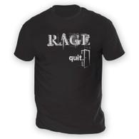 Rage Quit Mens T-Shirt