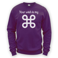 Your Wish Is My Command Sweater