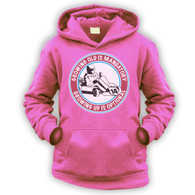 Grow Up Optional Go Kart Kids Hoodie