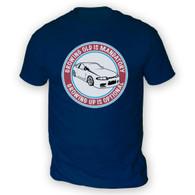 Grow Up Optional Skyline Mens T-Shirt