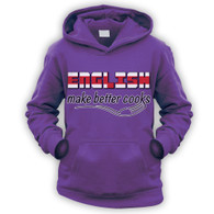 English Make Better Cooks Kids Hoodie