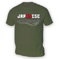 Japanese Make Better Cooks Mens T-Shirt