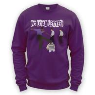 Printer Smash Sweater