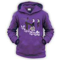 Bad Day at the Office Kids Hoodie