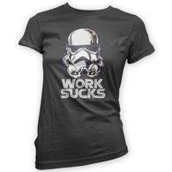 Work Sucks Helmet Womans T-Shirt