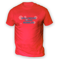 Hollywood Luxury Bubbles Mens T-Shirt