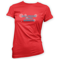 Hollywood Luxury Bubbles Womans T-Shirt
