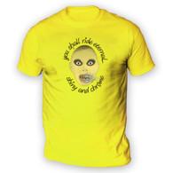 Shiny and Chrome Mens T-Shirt