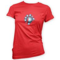 Arc Reactor Womans T-Shirt