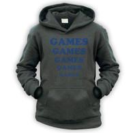 Games Games Games Kids Hoodie