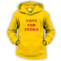 Vote for Pedro Kids Hoodie
