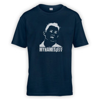 My Names Jeff Kids T-Shirt