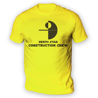 Death Star Construction Crew Mens T-Shirt