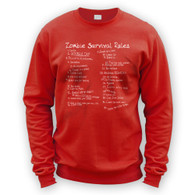 List of Zombie Rules Sweater